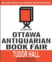 The 34th Annual Ottawa Antiquarian Book Fair