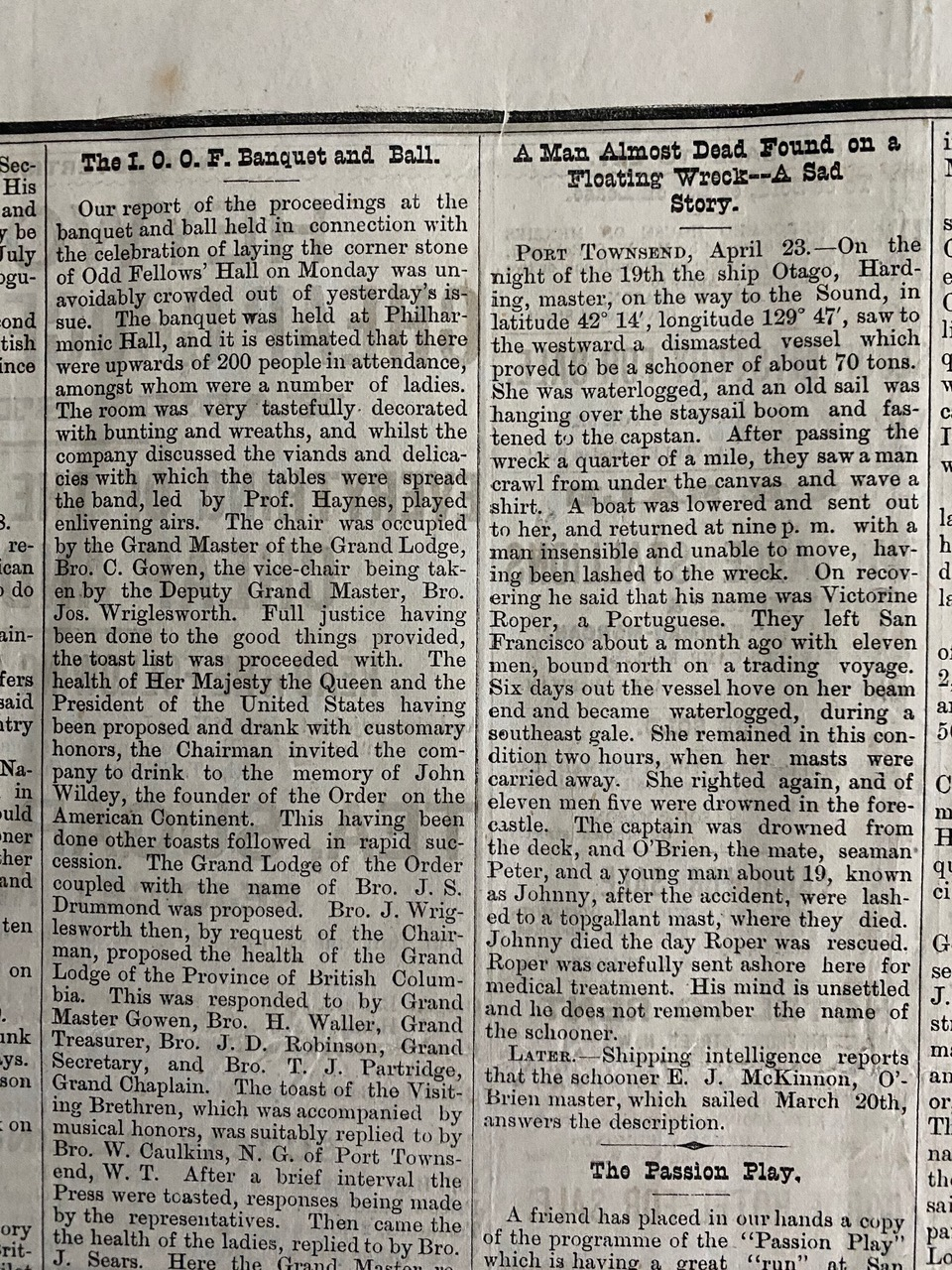 Daily British Colonist, July 9, 1879, Victoria, British Columbia, Canada on tube terminals, tube assembly, tube dimensions, tube fuses,