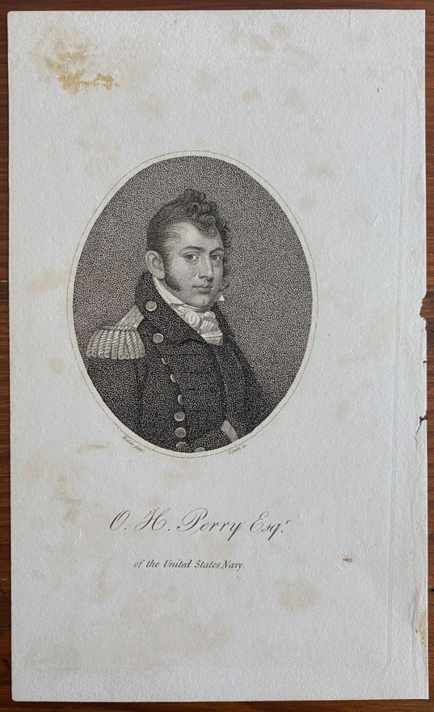 O.H. Perry Esqr. of the United States Navy engraving. Joseph DENNIE, Oliver Oldschool.