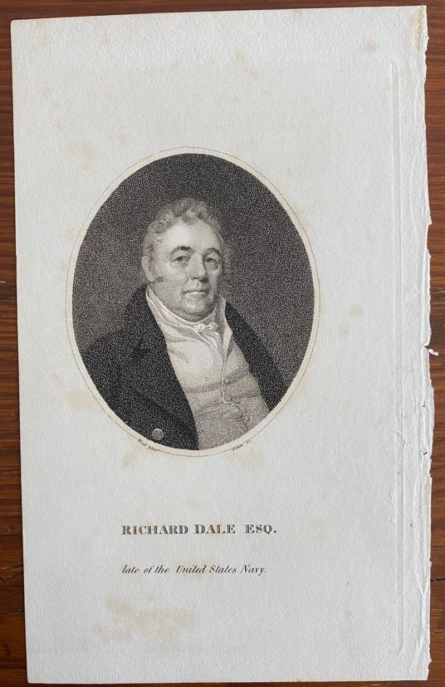 Richard Dale Esq. late of the United States Navy engraving. Joseph DENNIE,  subject Richard Dale, Oliver Oldschool.