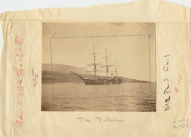 Five (5) albumen photos relating to Robert Peary on two separate trips to the Arctic. Robert Edwin PEARY.