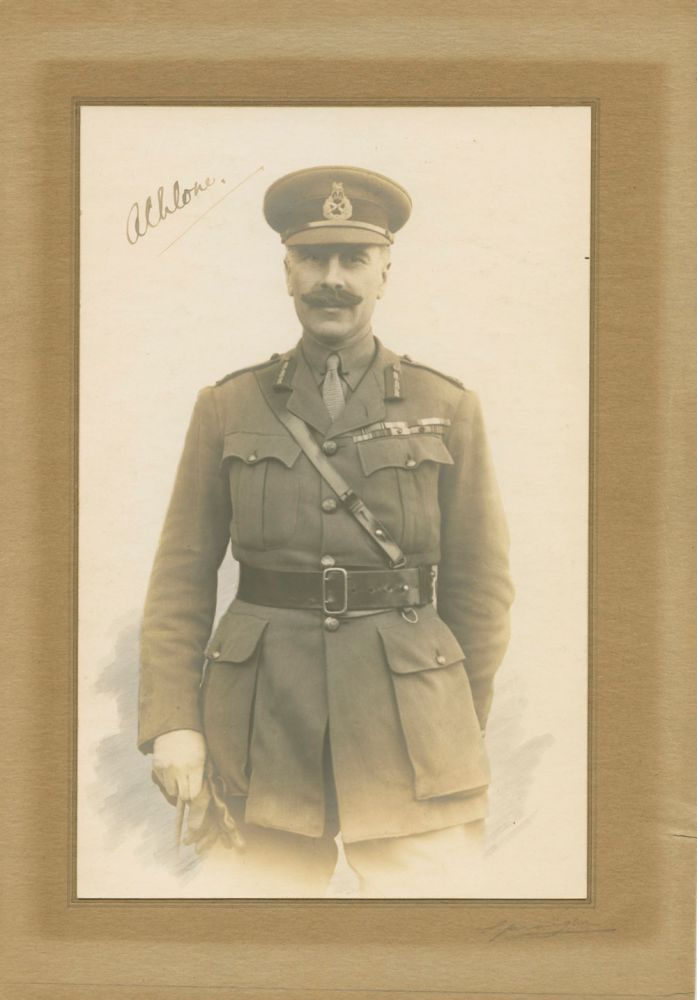 Signed photo, Major-General Alexander Augustus Frederick William Alfred George Cambridge, 1st Earl of Athlone. Prince Alexander CAMBRIDGE, Earl of Athlone.