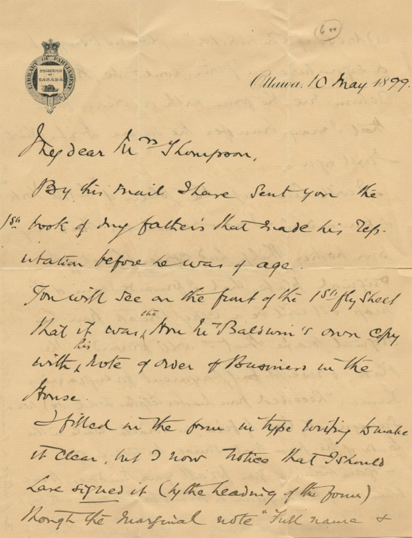 Autographed Signed Autographed Signed LetterLetter (ASL) of Captain Alfred Hamlyn Todd. Captain Alfred Hamlyn TODD.