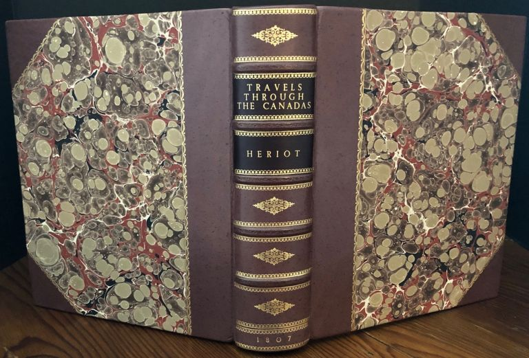 Travels Through the Canadas (all plates hand-coloured edition). George HERIOT.