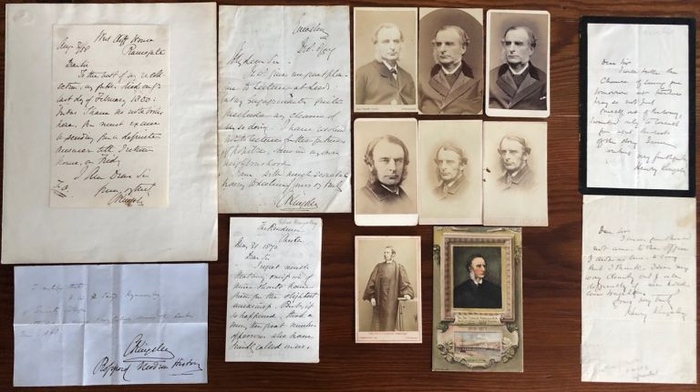 Charles and Henry Kingsley collection. Charles KINGSLEY, Henry KINGSLEY.