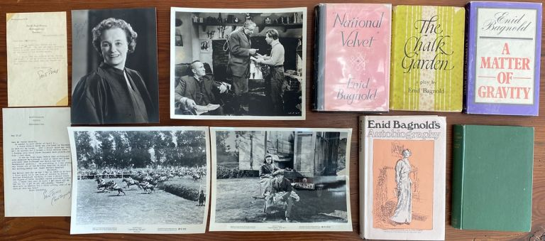 Enid Bagnold Letters, Photos and Books collection. Enid BAGNOLD, Lady Jones.