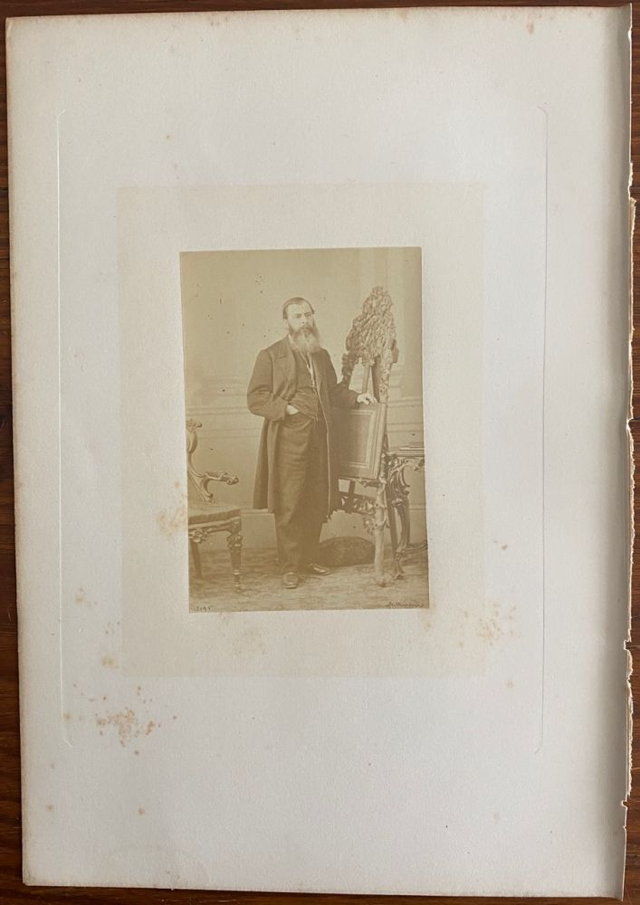 [Honorable Joseph Cauchon] albumen photo. Joseph-Édouard CAUCHON, William NOTMAN, photographer.
