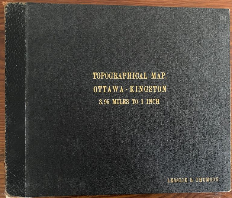 Ontario Kingston Sheet 10 S.W. Canada, Department of Mines and Resources Surveys and Engineering Branch Hydrographic and Map Service. Surveyor General, Chief Hydrographic Service.