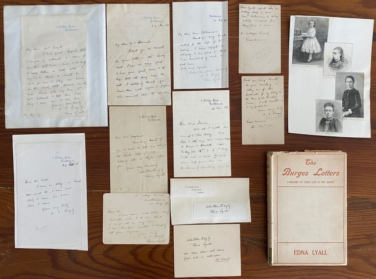 Edna Lyall collection. Edna LYALL, pseud. of Ada Ellen Bayly.