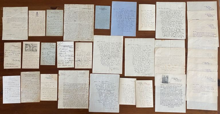 Coulson Kernahan Letters collection. John Coulson KERNAHAN.