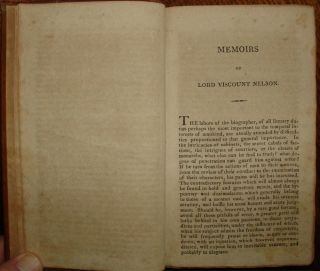 Biographical Memiors of Lord Viscount Nelson