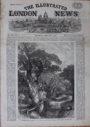 Illustrated London News - February 9, 1867 (Viscount Monck image and article). Charles MONK, 4th...