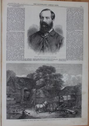 Illustrated London News - February 9, 1867 (Lord Stanley image and article)