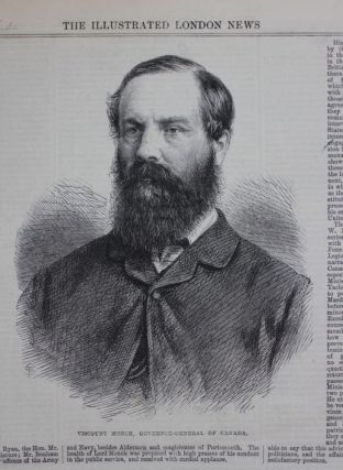 Illustrated London News - February 9, 1867 (Viscount Monck image and article)