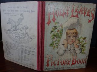 Holly Leaves Picture Book. ANON