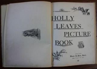 Holly Leaves Picture Book