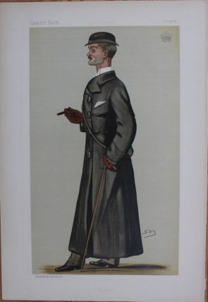 Coals print Lord Durham Dec. 24th, 1887 spy. Lord John George Lambton Earl of Durham DURHAM