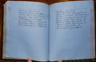The 5th Parliament of the Province of Canada content from 1854-57 Committee Logbook