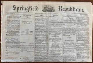 Red River of the North articles from The Springfield Republican newspaper. The Springfield...