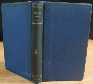"Historical Essays: Being Selections from ""Short Stories on Great Subjects"" (owned and signed by Max Aitken, Lord Beaverbrook). James Anthony FROUDE, William Maxwell ""Max"" Aitken BEAVERBROOK, 1st Baron, provenance."