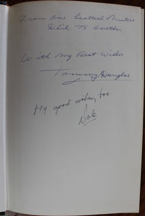 Tommy Douglas Speaks - Till Power is Brought to Pooling (signed by Tommy Douglas & Editor Dale Lovick)