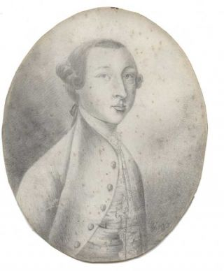 John Holland esq. pencil sketch (likley a self-portrait). John HOLLAND