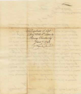 Duplicate (reminder) letter for payment of £300 from Capt. Benjamin Cobb