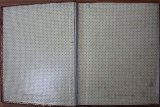 Large Elaborate Gilt Stamped Leather [Floral] Album c1850 by John C. Ricker NY