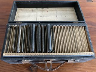 Temperance / Prohibition - Magic Lantern Slides. NY Post Graduate Hospital