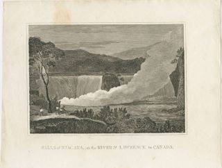 Falls of Niagara, on the River St. Lawrence in Canada. William M. after GRAIG, T. WALLIS.