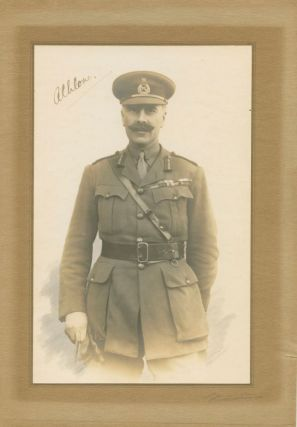Signed photo, Major-General Alexander Augustus Frederick William Alfred George Cambridge, 1st...