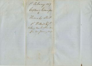 First Welland Regiment Military Captain Commission for Thomas C. Street signed by Elgin Kincardine
