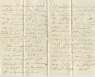Autographed Signed Letter (ASL) of Madeline Wharton Metcalf