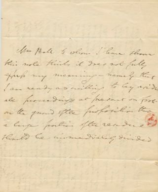 Two Autographed Signed Letter (ASL) of Isaac Taylor