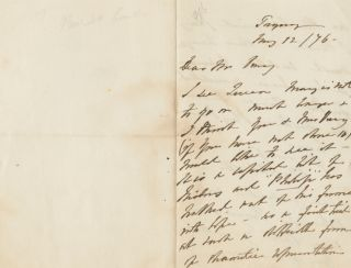 Autographed Signed Letters(ASL) of Angela Georgina Burdett-Coutts. Angela Georgina BURDETT-COUTTS, 1st Baroness Burdett-Coutts.