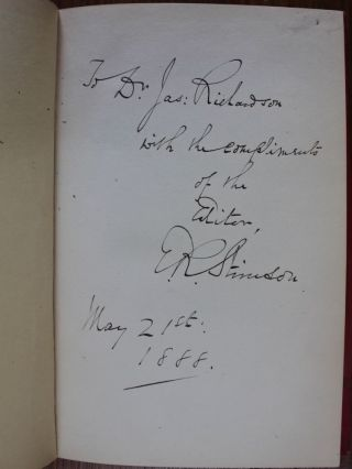 History of the Separation of Church and State in Canada (signed)