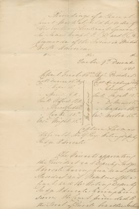 Proceedings of a General Court Martial held by Order of his Excellency Lieutenant General Sir...