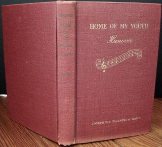 Home of My Youth (inscribed). Josephine Elizabeth HAHN