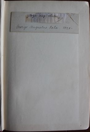 George Augustus Sala collection