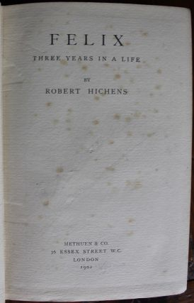 Robert Hichens collection