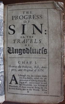 The Progress of Sin, or, The travels of ungodliness
