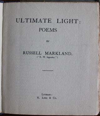 Russell Markland collection