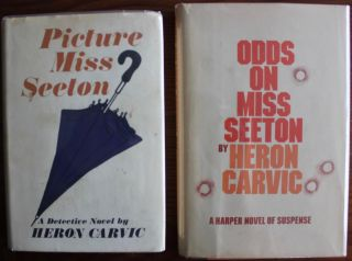 Agatha Christie collection combined with Heron Carvic collection