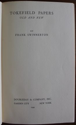 Frank Swinnerton collection