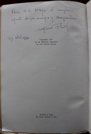 Eugenio Florit 5 early first editions from 1933 to 1955 signed Spanish books collection