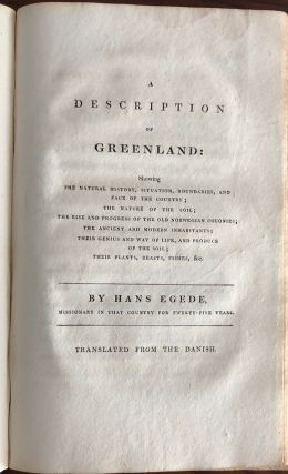 Greenland early missionary work collection