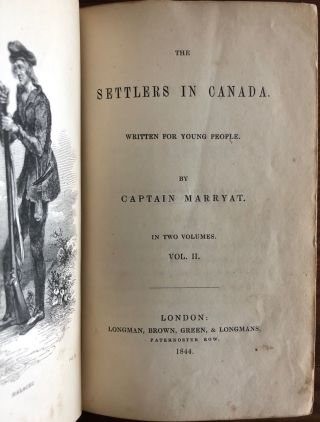 Captain Frederick Marryat collection