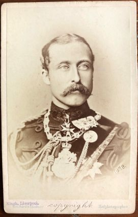Two CDV's of Prince Arthur, 1st Duke of Connaught and Strathearn and Field Marshal