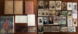 Henry Wadsworth Longfellow Ephemera & Books collection. Henry Wadsworth LONGFELLOW