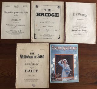 Henry Wadsworth Longfellow collection